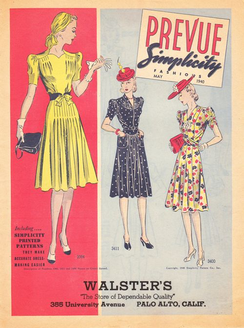 40s-vintage-clothing-ad-rayon-dresses